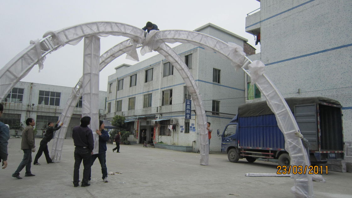 Outside Large And Small Series Aluminum Lighting Truss With Arch Roof Top