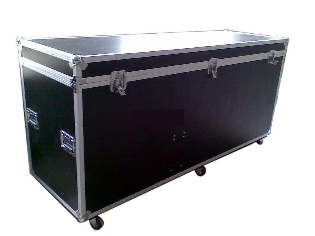 Customized Heavy Duty Wooden Flight Case with Casters