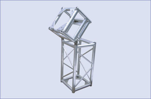 hinge section used in aluminum stage truss tower connect