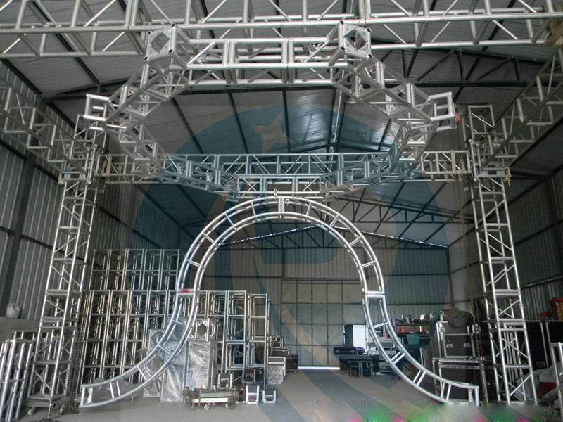 High corrosion resistance Aluminum stage  truss for move performances